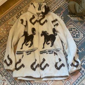 Vintage western sweater